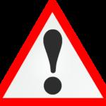 Ausrufezeichen - Wichtig nach Schlaganfall