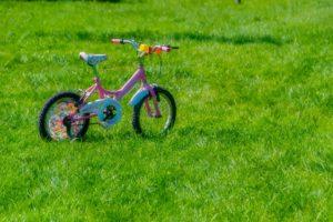 Fahrrad fahren mit Hemiparese - Kinderfahrrad