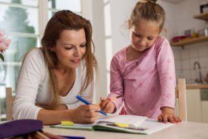 Kind fördern - Mama und Kind entwickeln einen Plan
